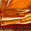 Sitting Buddha statue  details, Thailand — Stock Photo #63061781