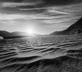 Sand dunes. Nubra valley, Ladakh, India — Stock Photo