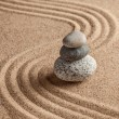 Japanese Zen stone garden — Stock Photo #63184823