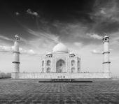 Taj Mahal, Agra, India — Stock Photo
