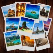Collage of Thailand images — Stock Photo