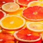 Colorful citrus fruit slices — Stock Photo #63548515