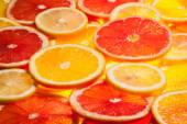Colorful citrus fruit slices — Stock Photo