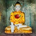 Buddha statue in Shwedagon pagoda — Stock Photo #66262269