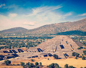 Pyramid of the Moon. Teotihuacan, Mexico — Stock Photo