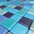 Abstract background of multicolored colorful cubes — Stock Photo #69341345