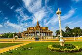 Phnom Penh Royal Palace complex — Stock Photo