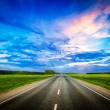Road and stormy sky — Stock Photo #70112085