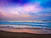 Peaceful ocean sunrise — Stock Photo