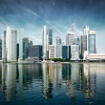 Modern city skyline — Stock Photo #70436665