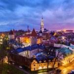 Tallinn Medieval Old Town, Estonia — Stock Photo #75739189