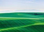 Moravia rolling landscape — Stock Photo