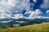 Carpathian mountain landscape — Stock Photo