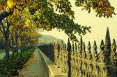 Autumn vintage Quay — Foto Stock