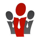 Gruppens ledare 2 — Stockvektor