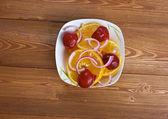 Egyptian orange salad — Stock Photo