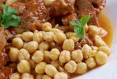 Chtitha Lham Lamb in a Red Sauce — Stock Photo