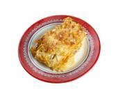 Pastitsio -  a Greek and Mediterranean baked pasta  — Stock Photo