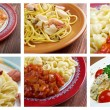 Food set of different italian pasta. — Stock Photo #52778295