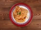 Pasta asciutta — Stock Photo