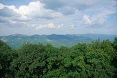 As montanhas do cáucaso, no verão — Fotografia Stock