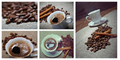 Collectionf coffee — Stock Photo