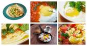 collection Delicious egg — Stock Photo