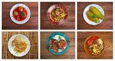 Food set oriental cuisine. — Stock Photo
