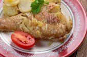 Baked red grouper  — Stock Photo
