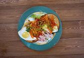 Huevos Motulenos — Stock Photo