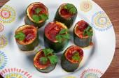 Cuor di zucchina — Stock Photo