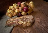 Delicious Jerk  pork belly — Stock Photo