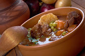 Beef fricassee — Stock Photo