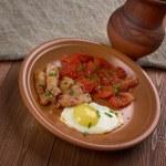 European breakfast — Stock Photo #55591715