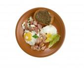 European country breakfast — Stock Photo