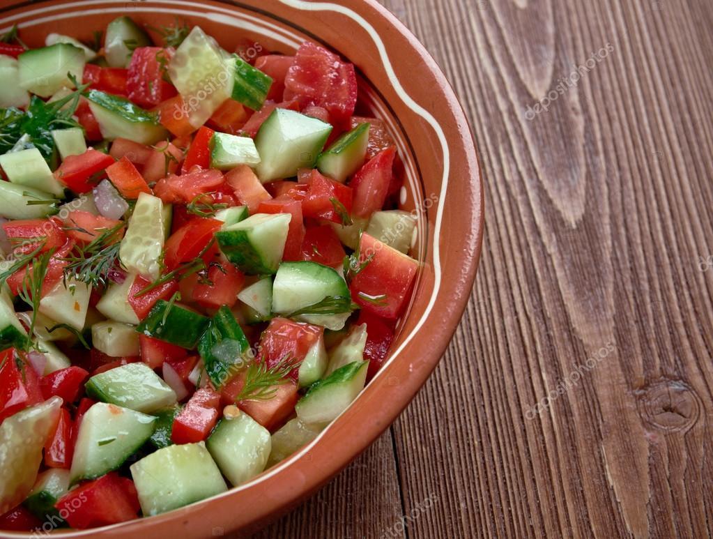 Салат арабский рецепт с пошаговый