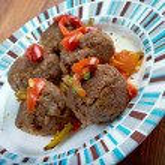 Fiesta Meatballs — Stock Photo #57432287
