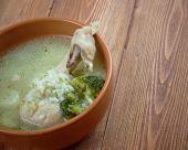 Oriental soup with  — Foto de Stock