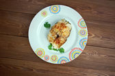 Baked Scrod — Stock Photo