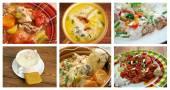 食品设置美国菜. — 图库照片