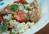 Chicken bog — Stock Photo