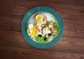 Eggs Neptune — ストック写真
