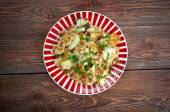 Curried Hash Brown Scramble — Stock Photo