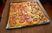 Pizza strips — Stock Photo