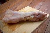 Pig's leg  — Stock Photo