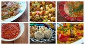Central Asian cuisine — Stock Photo