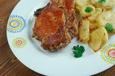Pork baked  Loins   — Stock Photo