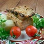 Roasted pork belly — Stock Photo #67139793