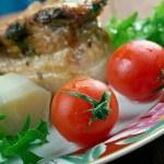 Roasted pork belly — Stock Photo #67139809