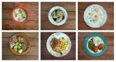 European cuisine. — Stock Photo